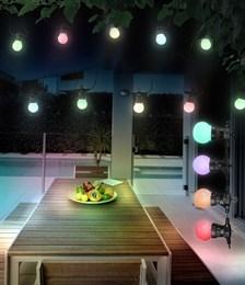 Гирлянда Globo Nirvana 3401 12,5м 20 разноцветных шариков IP44