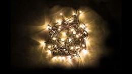 Гирлянда на елку 15 лучей по 6м+6м шнур 32954 IP44 теплый свет, разные режимы свечения