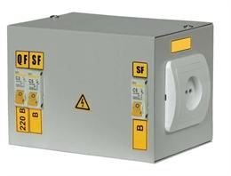 Ящик с понижающим трансформатором ЯТП 0.25 220/24В C (2 авт. выкл.) ИЭК MTT12-024-0250