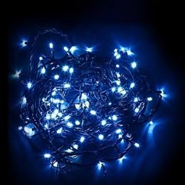 Гирлянда нить Feron 60м, синий свет, постоянное свечение IP44 32319