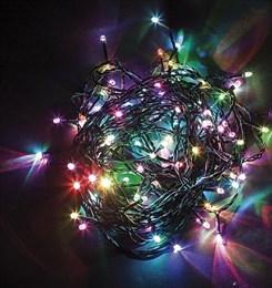 Гирлянда нить Feron 60м, разноцветная, постоянное свечение IP44 26784