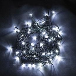 Гирлянда на елку Feron 10 лучей по 5м + шнур 6м CL92, белый свет, разные режимы 32378