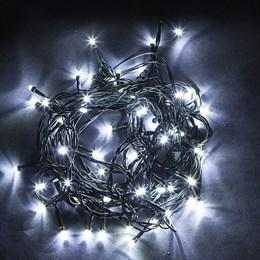 Гирлянда нить Feron CL07 32317 40м холодный свет, эффект мерцания IP44