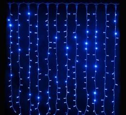 Световой занавес 2*2м Feron CL20 32335 IP44 синий свет, постоянное свечение