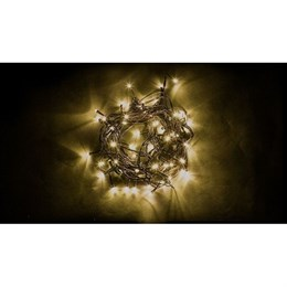 Гирлянда нить Feron CL07 26781 40м теплый свет, постоянное свечение IP44