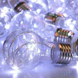 Гирлянда интерьерная лампы Feron CL580 32369 3м белый свет на батарейках