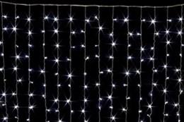 Световой занавес Feron CL19 32332 2*1,5м белый свет, эффект мерцания IP44