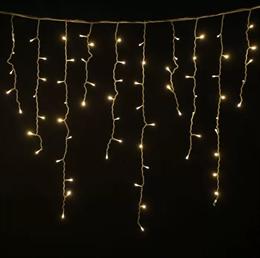 Бахрома Feron CL23 32348 5,3*0,7м IP44 теплый свет, постоянное свечение