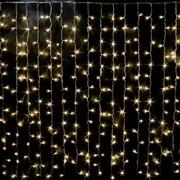Световой занавес Feron CL19 32328 IP44 2*2м теплый свет постоянное свечение