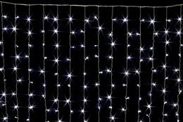 Световой занавес Feron CL21 32339 IP44 3*3м постоянное свечение холодный белый