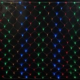 Светодиодная сеть Feron CL70 32354 1,5*1,5м IP20 разноцветная, разные режимы работы