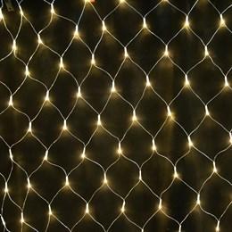 Светодиодная сеть Feron CL70 32355 1,5*1,5м IP20 теплый свет, разные режимы работы