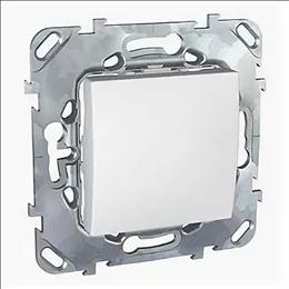 Механизм выключателя 1-кл. 2мод. СП Unica New IP21 (сх. 1) 250В 10AX бел. SchE NU520118
