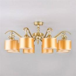 Потолочная люстра Ofelia 60070/8 перламутровое золото