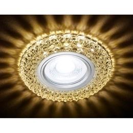 Точечный светильник Декоративные Кристалл Лайт S291 CH/W