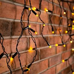 Бахрома Neon Night Айсикл 255-226 4,0*0,6 м, теплый белый, постоянное свечение IP67