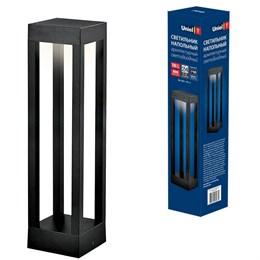 Уличный светодиодный светильник Uniel ULU-T06A-10W/3000K IP65 Black  (UL-00006814)