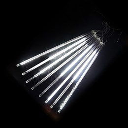 """Гирлянда уличная """"Метеор"""" 2,8*0,5м D5048T W, белый свет, эффект падающего снега IP65"""