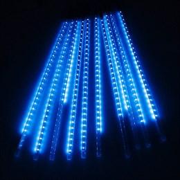 """Гирлянда уличная """"Метеор"""" 2,8*0,5м D5048T B, синий свет, эффект падающего снега IP65"""