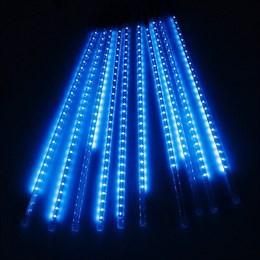 """Гирлянда уличная """"Метеор"""" 2,8*0,8м D8072T B, синий свет, эффект падающего снега IP65"""