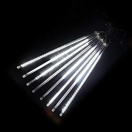 """Гирлянда уличная """"Метеор"""" 2,8*0,8м D8072T W, белый свет, эффект падающего снега IP65"""