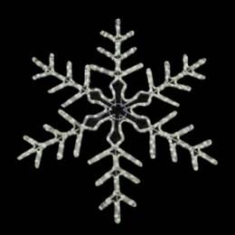 """Световая фигура """"Снежинка"""" DSF-017 белая с контроллером 95*95см IP44"""