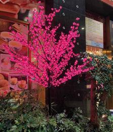 """Светодиодное дерево """"Сакура"""" 2,5м, String light D6202 розовый IP44"""