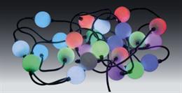 Гирлянда Большие шарики 30м, D5см, D6026, мульти, IP65, эффект смены цвета