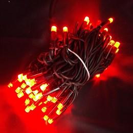 """Гирлянда  """"LED Стринг Лайт"""" outdoor 10м IP44 красный свет, постоянного свечения"""