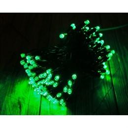"""Гирлянда  """"LED Стринг Лайт"""" outdoor 18м IP44 зеленый свет, постоянного свечения"""