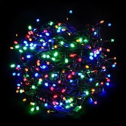 """Гирлянда  """"LED Стринг Лайт"""" outdoor 18м IP44 мульти свет, постоянного свечения"""