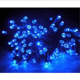 """Гирлянда  """"LED Стринг Лайт"""" outdoor 18м IP44 синий свет, постоянного свечения"""