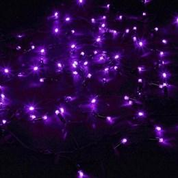 """Гирлянда  """"LED Стринг Лайт"""" outdoor 18м IP44 фиолетовый свет, постоянного свечения"""