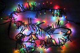 Гирлянда уличная Мишура 3м D2380 Steady RGB разноцветный свет IP54 постоянное свечение