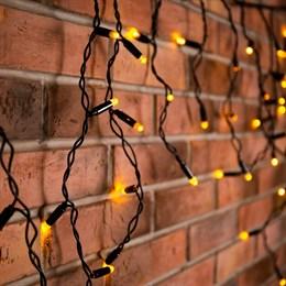 Бахрома IL-LED-180 Y/BL Steady 5*0,5м, желтый свет, постоянного свечения, IP44