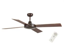 Вентилятор Faro MALLORCA Ø 132см коричневый 4 лопасти 33351