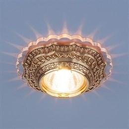 Точечный светильник  6027 MR16 GD золото
