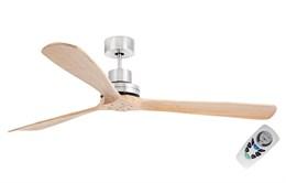 Вентилятор Faro LANTAU-G MATT NICKEL/PINE CEILING FAN 33504