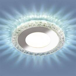 Точечный светильник 9908-9909 9909 LED 8W CL прозрачный