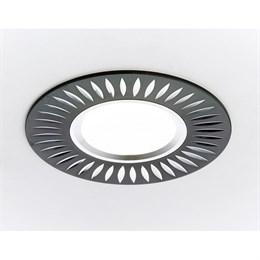 Точечный светильник Алюминий С Узором A507 BK/AL