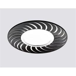 Точечный светильник Алюминий С Узором A720 BK/AL