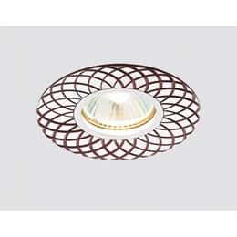 Точечный светильник Алюминий С Узором A815 AL/BR