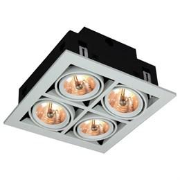 Точечный светильник Cardani Medio A5930PL-4WH