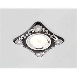 Точечный светильник Дизайн С Узором И Орнаментом Гипс D2065 BK/CH