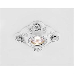 Точечный светильник Дизайн С Узором И Орнаментом Гипс D5504 W/CH