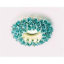 Точечный светильник Дизайн С Узором И Орнаментом Гипс D5505 BL/G