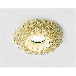 Точечный светильник Дизайн С Узором И Орнаментом Гипс D5505 W/G