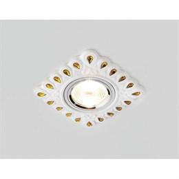 Точечный светильник Дизайн С Узором И Орнаментом Гипс D5550 W/YL