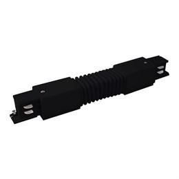 Соединитель  TRC-1-3-FLEX-BK / Гибкий коннектор для трехфазного шинопровода (черный)