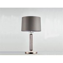 Интерьерная настольная лампа 4400 4401/T black nickel без абажура